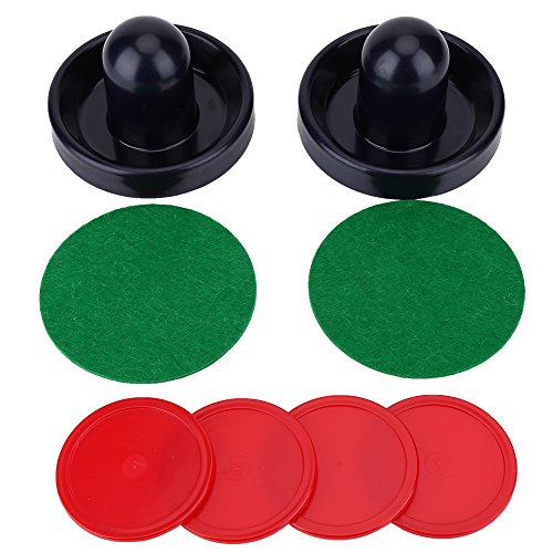 VGEBY Portable Hockey Replacement Pucks & Slider Pusher Goalies for Game Tables, Equipment, - Puck Standard Slider