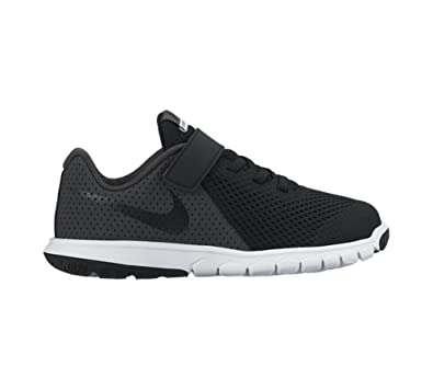 Nike Boys Flex Experience 5 PSV Running Shoes (1 LITTLE KID M, BLACK/