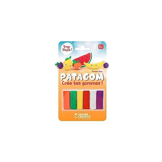 Graine Créative Goma de borrar para modelar 6 Colores ...