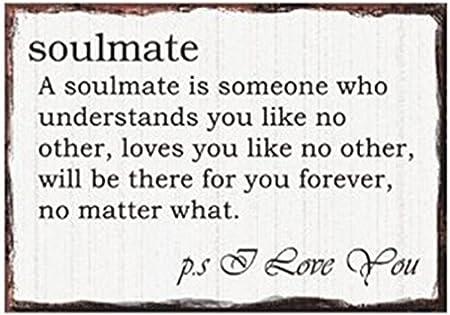 soulmate double sided keyring valentine s day gift amazon co uk
