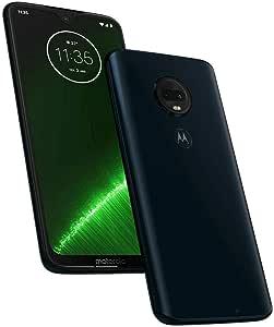 "Motorola Moto G7 Plus XT1965 64GB 6.2"" FHD+ Dual SIM LTE Factory Unlocked (International Model) (Deep Indigo)"