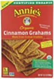 Annie's Organic Graham Crackers, Cinnamon, 14.4 Ounce (Pack of 4) by Annie's Homegrown