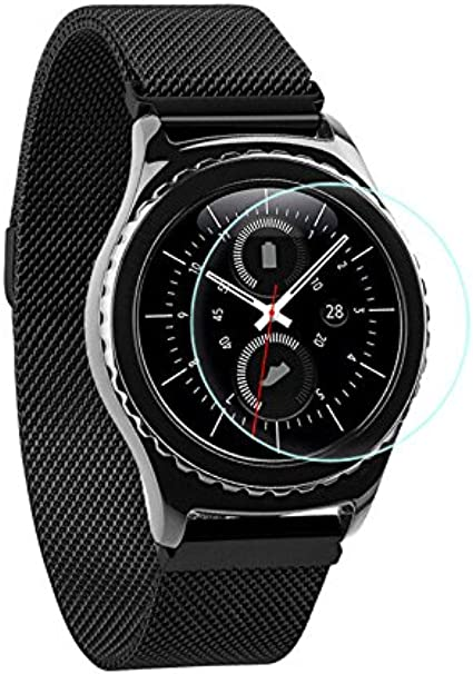 para Samsung Gear S2 Protector de Pantalla, Ultra Delgado HD Clear ...