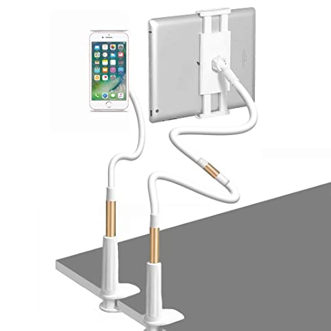 Amazon.com: Soporte de tablet ajustable, soporte de teléfono ...