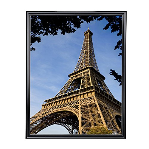 "V-LIGHT Poster Frame 12"" x 18"", Pack of One, Black"