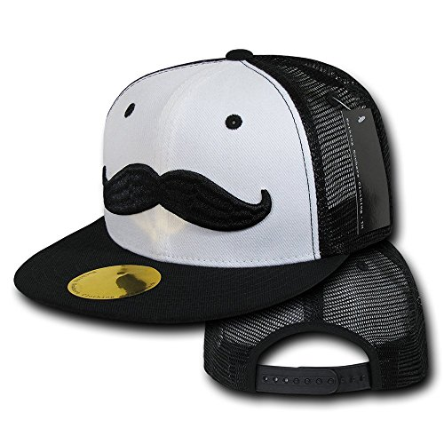 Nothing Nowhere Mustache by NN Cap, Black by Nothing Nowhere (Image #2)