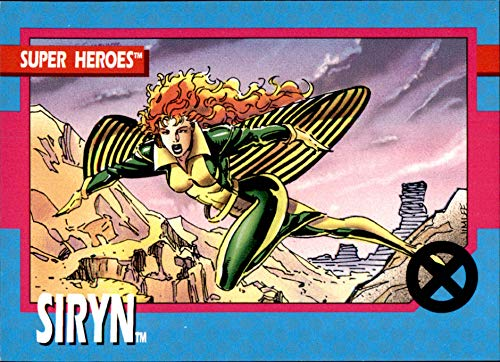 1992 Uncanny X-Men Marvel #9 Siryn -