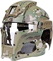 Tactical Military Ballistic Helmet Side Rail NVG Shield Transfer Base Military Combat Airsoft Paintball Full C