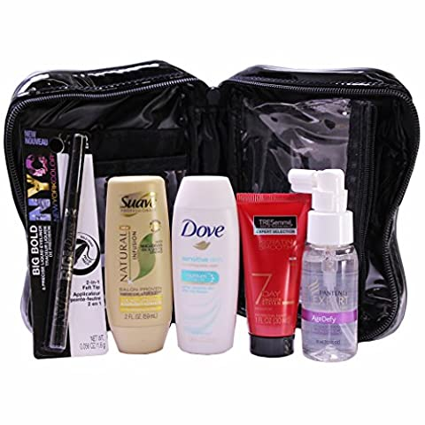 Personal Care Travel Gift Set for Women, with Cosmetic Bag (Travel Set)
