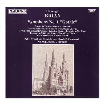 Symphony 1 Gothic by Havergal Brian : Havergal Brian, Lenard: Amazon.it:  Musica