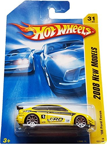 Hot Wheels 2008 031 31 New Models Red '08 Ford Focus (Mustang Cars Toy Model 2005)