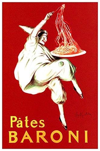 pates baroni spaghetti poster - 1