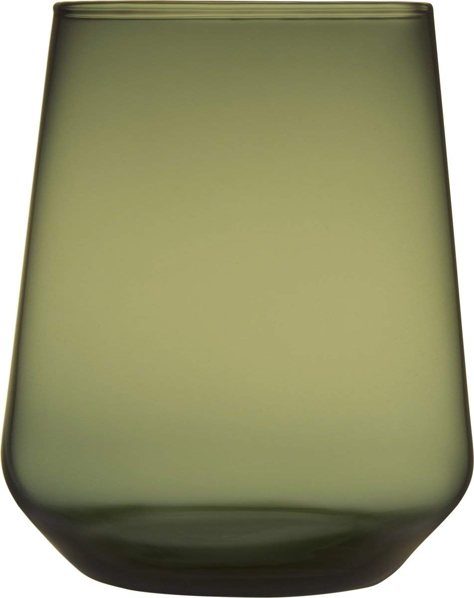 Iittala Essence Water 35 cl Moss Green Pack of 2 by Iittala