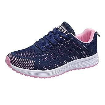 Zapatos Mujer Ligeros,VECDY2019 Moda Zapatillas Mujer Malla ...