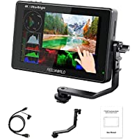 FEELWORLD LUT7 7 Inch Ultra Bright 2200nit Touch Screen Camera DSLR Field Monitor with 3D Lut Waveform Vectorscope…