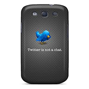 Defender Case For Galaxy S3, Twitter Pattern