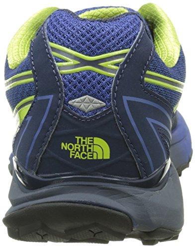 The North Face Herren M Ultra Cardiac Laufschuhe Bleu (Cosmic Blue/Macaw Green)