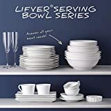 LIFVER 48 Ounce Serving Bowls, Large Bowl Sets of