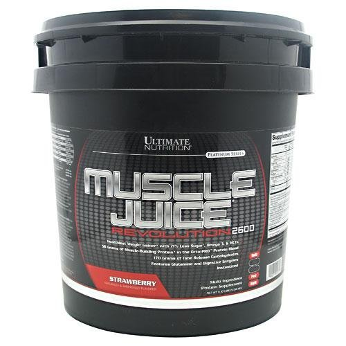 Ultimate Nutrition Platinum Series - Ultimate Nutrition Platinum Series Muscle Juice Revolution 2600 Strawberry -- 11.1 lbs by Ultimate Nutrition