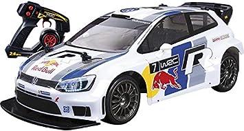 Nikko R.C. VOLSWAGEN Polo Red Bull WRC 1:14: Amazon.es ...