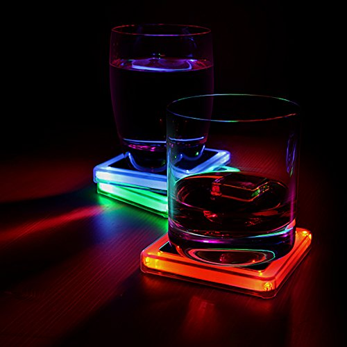 51KBRECIZVL - Radioactive Elements Glowing Coaster Set
