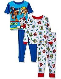 Boys' Paw Patrol 4-Piece Cotton Pajama Set