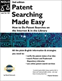 Patent Searching Made Easy, David Hitchcock, 0873375548