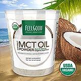 Feel Good USDA Organic MCT Oil Powder, 16 Ounces