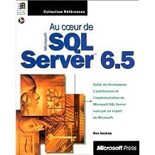 au coeur de sql server 6. 5 (avec cd-rom)