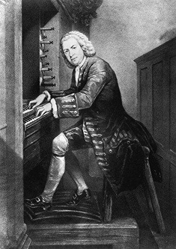 Composer Johann Sebastian Bach Fine Art Print