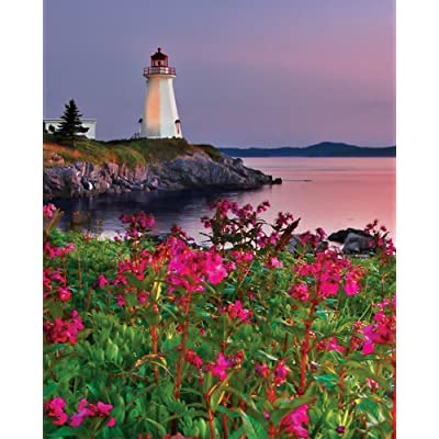 Springbok Lighthouse At Sunset 1000 Piece Jigsaw Puzzle By Springbok
