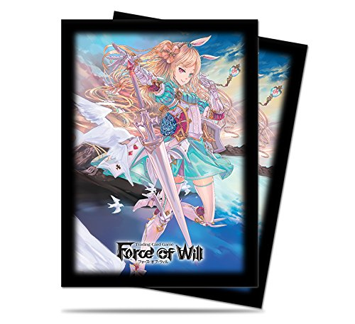 Ultra Pro Force of Will Alice Deck Protector Sleeves, Small, Black/White