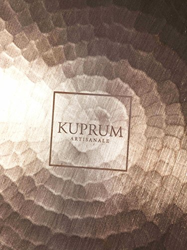 Kuprum Hand Hammered Solid Natural Copper Round Charger Plate, Decorative and Rustic for Tabletop and Service, 12.5'' by Kuprum (Image #2)