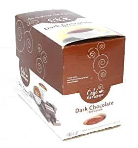 Cafe Express Dark Chocolate Hot Cocoa K-Cups for Keurig Brewers 48 Count