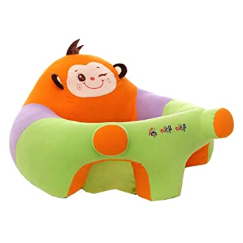 Amazon.com: Asiento de apoyo para sofá para bebé, silla de ...
