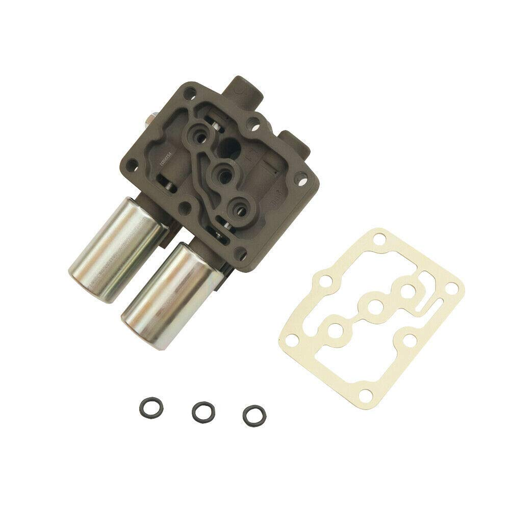 Transmission Dual Linear Shift Solenoid 28250-P6H-024 With Gasket For Honda Acura 1998 Up