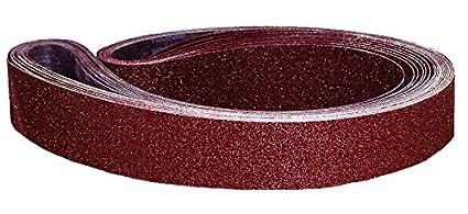 Astro Pneumatic Tool 303740G 1//2 x 18 Sanding Belt 40 Grit 10 Piece