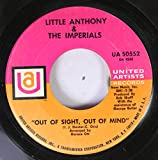 Little Anthony & The Imperials 45 RPM Out of Sight, Out of Mind / Summer's Comin' In