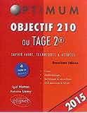 Objectif 210 au TAGE 2® Édition 2015