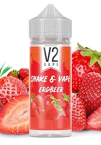 V2 Vape Shake and Vape Erdbeere   20ml hochdosiertes Aroma-Konzentrat zum mischen mit Base für E-Liquid   Longfill, zum…