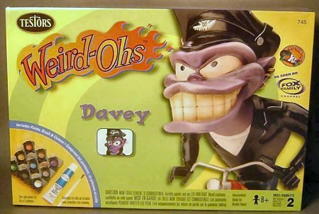 (Weird-Ohs Davey Model Kit)