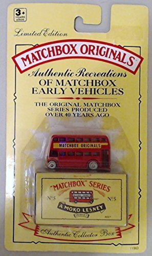 1993 Matchbox Originals Limited Edition Collectors' Series I 1:72 Scale Diecast Vehicle with Authentic Collector Box- Massey Harris Tractor No.4 (Lesney Matchbox)