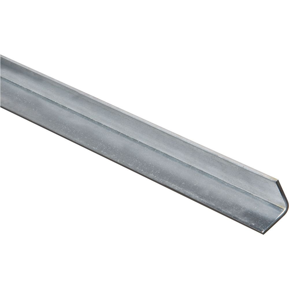 National Hardware N179-929 4010BC Solid Angle in Galvanized, 1'' x 36''
