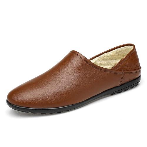 WOJIAO Casual Mocasines Hombres Conducción Suave Resbalón en Los Zapatos Mocasines de Moda: Amazon.es: Zapatos y complementos