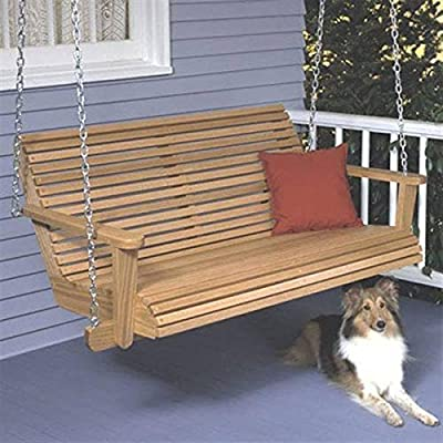 Woodworking Project Paper Plan to Build Porch Swing from WOOD PLANS