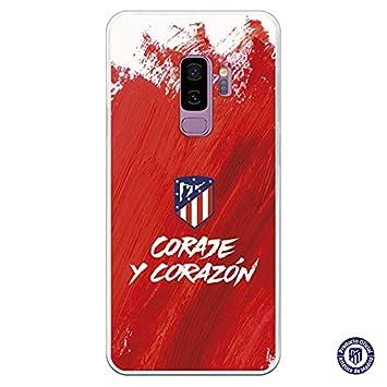 Carcasa Oficial Atl/ético de Madrid Escudo Oro para iPhone X
