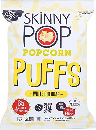 Price comparison product image Skinny Pop (NOT A CASE) Puffs White Cheddar