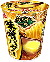 Acecook Drink a cup Series Miso Butter 12 meals