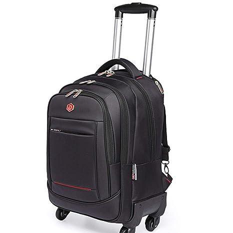 ab8ec19b78e7 Amazon.com: EGCLJ Boys Rolling Backpack - Carry-On Suitcase ...