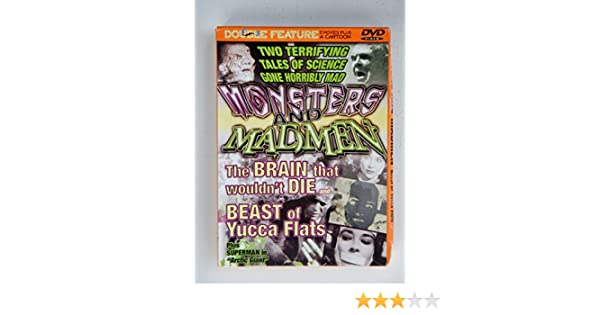 Amazon.com: Monsters and Madmen: The Brain That Wouldnt Die ...
